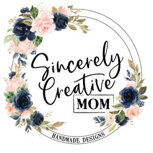 Floral logo - Sincerely Creative Mom